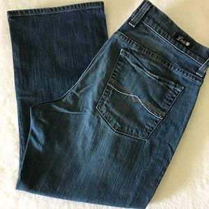 Lucky Brand Cropped Capri Jeans